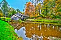 Virginia's Mabry Mill on the Blue Ridge Parkway in