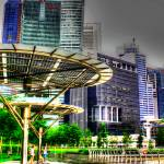 """Cityscape Singapore - Marina Bay Financial Center"" by sghomedeco"