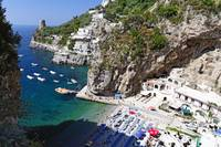 Small Beach at the Amalfi Coast
