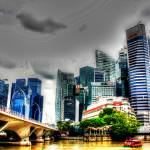 """Fantastic City Singapore - Urban Landscape"" by sghomedeco"