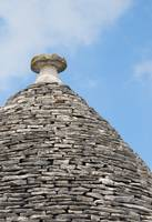 Traditional Apulian Trullo Roof, Alberobello, Pugl