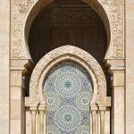 """Fountain at Hassan II Mosque, Casablanca"" by petrsvarc"