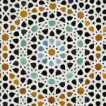 """Close-up of Ornate Mosaic Wall, Morocco"" by petrsvarc"