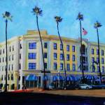 """Grand Colonial Hotel La Jolla"" by BeaconArtWorksCorporation"