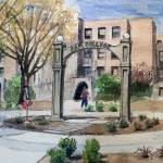 """Arkansas State University Arch"" by PjCreates"