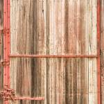 """Old Rustic Railroad Train Car Door"" by lightningman"