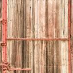 """Old Rustic Railroad Train Car Door"" by lightningman"