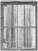 BW Old Classic Colorado Railroad Car Door
