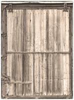 Sepia Old Classic Colorado Railroad Car Door