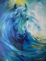 BLUE GHOST OCEAN EQUINE