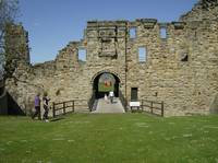 Entrance to St Andrews Castle