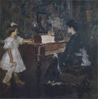 The Music Lesson (An Interlude) (c. 1906)
