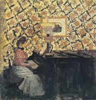 Girl at the Piano (c. 1897)