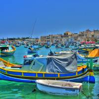 Malta - Marsaxlokk Luzzus Art Prints & Posters by let let