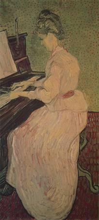 Marguerite Gachet at the Piano (1890)