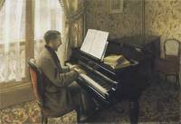 Young Man Playing the Piano (1876)