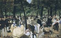 Music in the Tuileries Gardens (1862)
