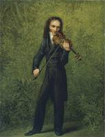 The Violinist Niccolò Paganini (c. 1830)