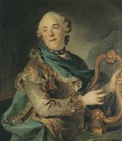 The Actor Pierre Jéliotte in the Role of Apollo