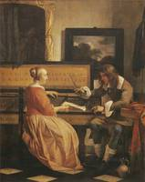 The Music Lesson (c. 1658)