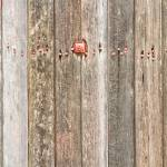"""Railroad Wood Texture and Red Bolts"" by lightningman"