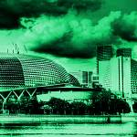 """Fantastic Singapore - Esplanade Theater"" by sghomedeco"