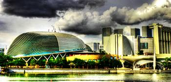 Fantastic Singapore - Esplanade Theater