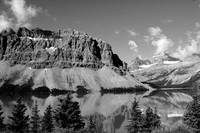 Bow Lake Black and White