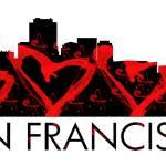 """I Left My Heart In San Francisco"" by WrightFineArt"