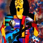 """Carlos Santana"" by everettsart"