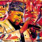 """Dizzy Gillespie"" by everettsart"