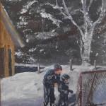 """Winter Delight -  Helper"" by RuthDriedger"