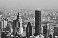 Chrysler Building New York Black And White