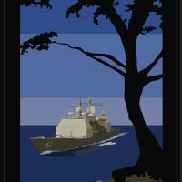 Visiting the Naval Postgraduate School Art Prints & Posters by Navy League Monterey