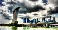 Cityscape Singapore 2013 - City and Sky