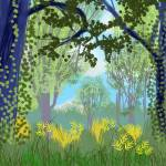 """Forest Park, September 22 2013"" by michaelandersonartprints"