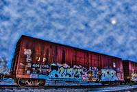 Graffiti Traincar