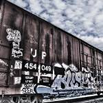 """Graffiti train"" by FischerPhotography"