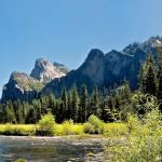 """""""Yosemite Valley Panorama"""" by JimLipschutz"""