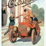 """Vintage Classic Automotive Poster #2"" by ArtLoversOnline"