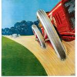"""Vintage Classic Automotive Poster #7"" by ArtLoversOnline"