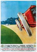 Vintage Classic Automotive Poster #7