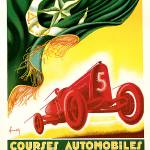 """Vintage Classic Automotive Poster #9"" by ArtLoversOnline"