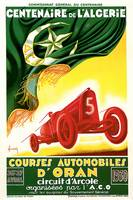 Vintage Classic Automotive Poster #9