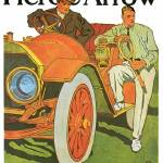 """Vintage Classic Automotive Poster #11"" by ArtLoversOnline"