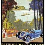 """Vintage Classic Automotive Poster #15"" by ArtLoversOnline"
