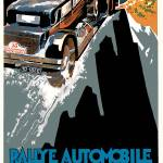 """Vintage Classic Automotive Poster #19"" by ArtLoversOnline"