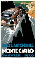 Vintage Classic Automotive Poster #19