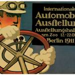 """Vintage Classic Automotive Poster #23"" by ArtLoversOnline"