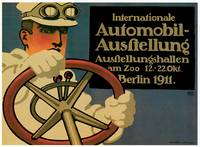 Vintage Classic Automotive Poster #23